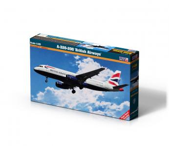A-320-200 British Airways · MC F09 ·  Mistercraft · 1:125