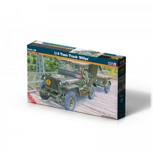 1/4 Ton Truck Willys · MC F299 ·  Mistercraft · 1:35