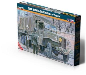 GMC CCKW-353 Military Truck · MC G98 ·  Mistercraft · 1:35