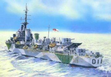 HMS Impulsive · MC S96 ·  Mistercraft · 1:500