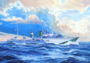HMS Harvester · MC S98 ·  Mistercraft · 1:500