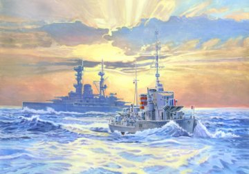 HMS Ivanhoe · MC S99 ·  Mistercraft · 1:500