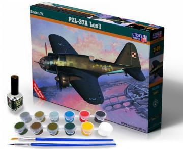 PZL P-37A Los I - Model Set · MC SD06 ·  Mistercraft · 1:72