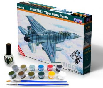 F-16CJ-52+Tiger Demo Team  - Model Set · MC SD115 ·  Mistercraft · 1:72