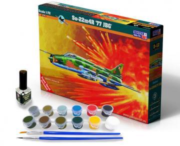 Su-22M4R 77 JBG - Model Set · MC SD12 ·  Mistercraft · 1:72