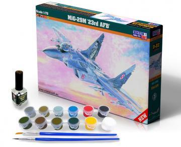 MIG-29M 23rd AFB - Model Set · MC SD22 ·  Mistercraft · 1:72
