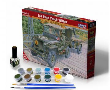 1/4 Tonn Truck Willys - Model Set · MC SD299 ·  Mistercraft · 1:72