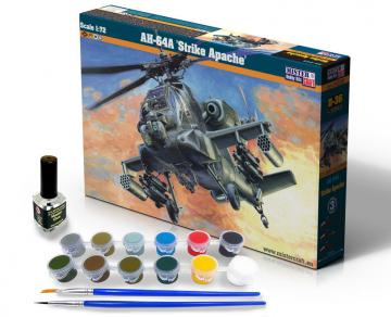 AH-64A Strike Apache - Model Set · MC SD36 ·  Mistercraft · 1:72