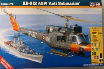 AB-212 ASW Anti Submarine - Super Set · MC SD57 ·  Mistercraft · 1:72