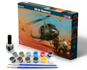 UH-1D MEDEVAC - Model Set · MC SD80 ·  Mistercraft · 1:72