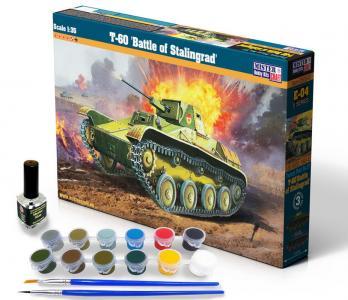 T-60 Battle of Stalingrad - Model Set · MC SE04 ·  Mistercraft · 1:35