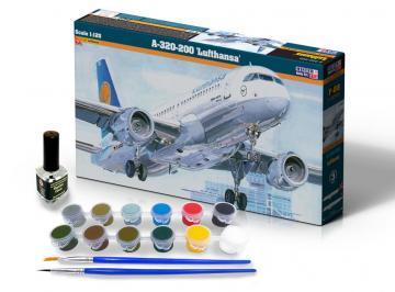 A-320-200 Lufthansa - Model Set · MC SF08 ·  Mistercraft · 1:125