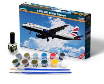 A-320-200 British Airways - Model Set · MC SF09 ·  Mistercraft · 1:125