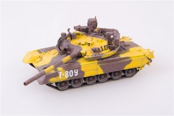 Russian Army T80UM1 at VTTV Omsk,2009 · MOD AS72069 ·  Modelcollect · 1:72