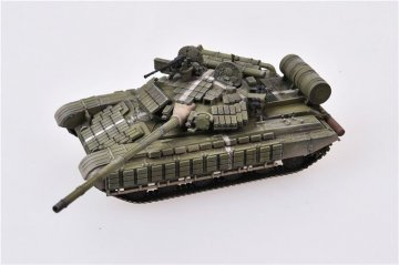 Soviet Army T-64AV Tank,Western Group of Forces,East Germany,1988 · MOD AS72081 ·  Modelcollect · 1:72