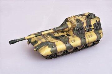 German WWII Jagdpanzer E100 Tank destory with 170mm gun,1946,Camouflage · MOD AS72099 ·  Modelcollect · 1:72