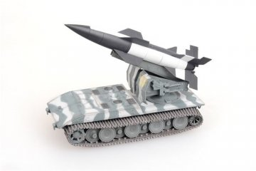 German WWII V4 short range tactical ballistic missile in Waffenträger auf E100,1946 · MOD AS72121 ·  Modelcollect · 1:72