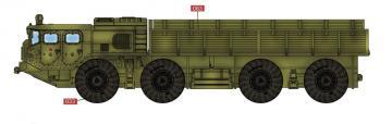 Soviet Army MAZ 7911 Heavy Truck · MOD AS72125 ·  Modelcollect · 1:72
