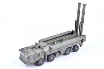 Russian 9K720 Iskander-k cruise missile MZKT chassis · MOD AS72128 ·  Modelcollect · 1:72