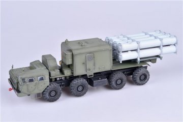 Russian Bal-Emobile coastal defense missile luncher w.Kh-35 anti-ship · MOD AS72130 ·  Modelcollect · 1:72