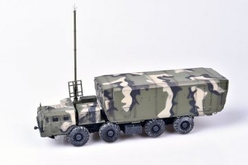 Russian S300 missile system 54K6E Baikal Air Defence Command Post camouflage · MOD AS72144 ·  Modelcollect · 1:72