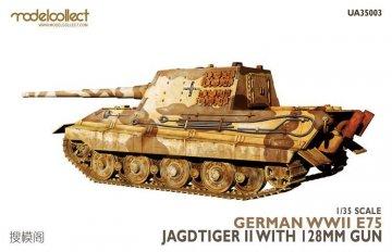 German WWII - E75 Jagdtiger II w. 128mm gun · MOD UA35003 ·  Modelcollect · 1:35