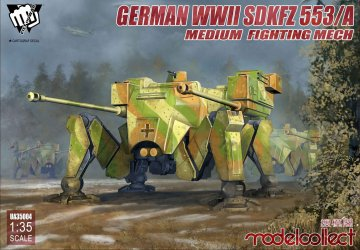 Fist of War - German WWII sdkfz 553/A medium fighting Mech · MOD UA35004 ·  Modelcollect · 1:35