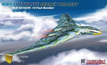 WWII Luftwaffe Secret Project Focke-Wulf 0310239-10 - Fast Bomber · MOD UA48002 ·  Modelcollect · 1:48