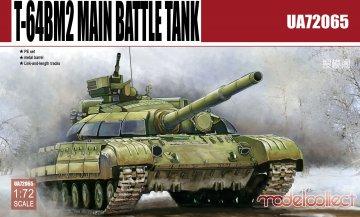 T-64BM2 Main Battle Tank · MOD UA72065 ·  Modelcollect · 1:72