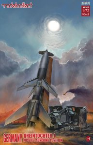 Germany WWII Rheintochter 1 missile launching position 1+1 · MOD UA72072 ·  Modelcollect · 1:72