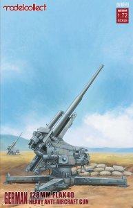 German 128mm Flak40 heavy Anti-Aircraft Gun · MOD UA72094 ·  Modelcollect · 1:72