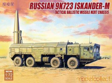 Russian 9K720 Iskander-M Tactical ballis missile MZKT chassis · MOD UA72105 ·  Modelcollect · 1:72