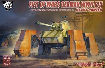 Fist of War German WWII E75 heavy panzer · MOD UA72107 ·  Modelcollect · 1:72
