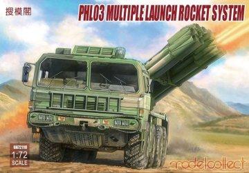 PHL03 Multiple launch rocket system · MOD UA72110 ·  Modelcollect · 1:72