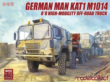 German MAN KAT1M1014 8*8 HIGH-Mobility off-road truck · MOD UA72132 ·  Modelcollect · 1:72