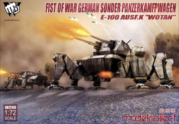 Fist of War - German Sonder Panzerkampfwagen E-100 Ausf. K Wotan · MOD UA72159 ·  Modelcollect · 1:72