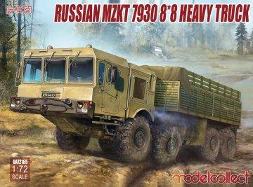 Russian MZKT 7930 8*8 heavy Truck · MOD UA72165 ·  Modelcollect · 1:72