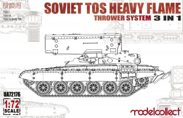 Soviet TOS Heavy Flame ThrowerSystem 3in1 · MOD UA72176 ·  Modelcollect · 1:72