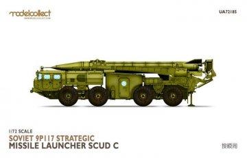 Soviet 9P117 Strategic missile launcher (SCUDC) · MOD UA72185 ·  Modelcollect · 1:72