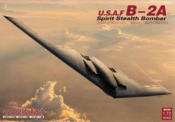 USAF B-2A Spirit Stealth Bomber · MOD UA72201 ·  Modelcollect · 1:72