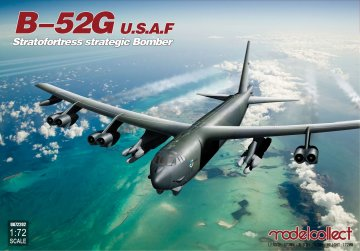 U.S.A.F.B-52G Stratofortress strategic Bomber · MOD UA72202 ·  Modelcollect · 1:72