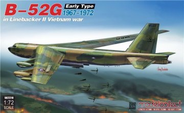 B-52G early type in Linebacker II Vietnam war 1967-1972 · MOD UA72210 ·  Modelcollect · 1:72