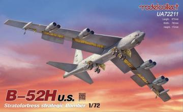 B-52H U.S. Stratofortres strategic Bomber · MOD UA72211 ·  Modelcollect · 1:72