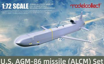 U.S. AGM-86 air-launched cruise missile (ALCM) Set 20 pics · MOD UA72224 ·  Modelcollect · 1:72