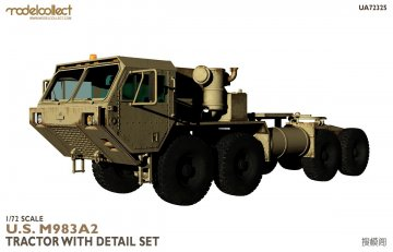 U.S M983A2 Tractor with detail set · MOD UA72325 ·  Modelcollect · 1:72