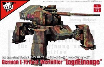 Fist of War - German WWII E-75 Ausf. Vierfüßer - Jagdeinauge · MOD UA72348 ·  Modelcollect · 1:72