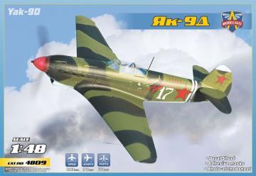 Yak-9D · MSV 4809 ·  Modelsvit · 1:48