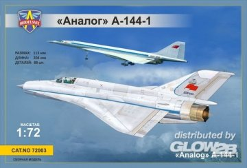 MiG-21i first prototype (Analog A-144-1) · MSV 72003 ·  Modelsvit · 1:72