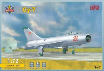 Sukhoi Su-7 Soviet fighter · MSV 72007 ·  Modelsvit · 1:72