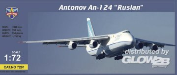 Antonov An-124-100 Ruslan cargo aircraft · MSV 7201 ·  Modelsvit · 1:72